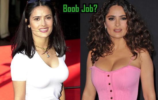 Salma Hayek Boob Job, Surgery